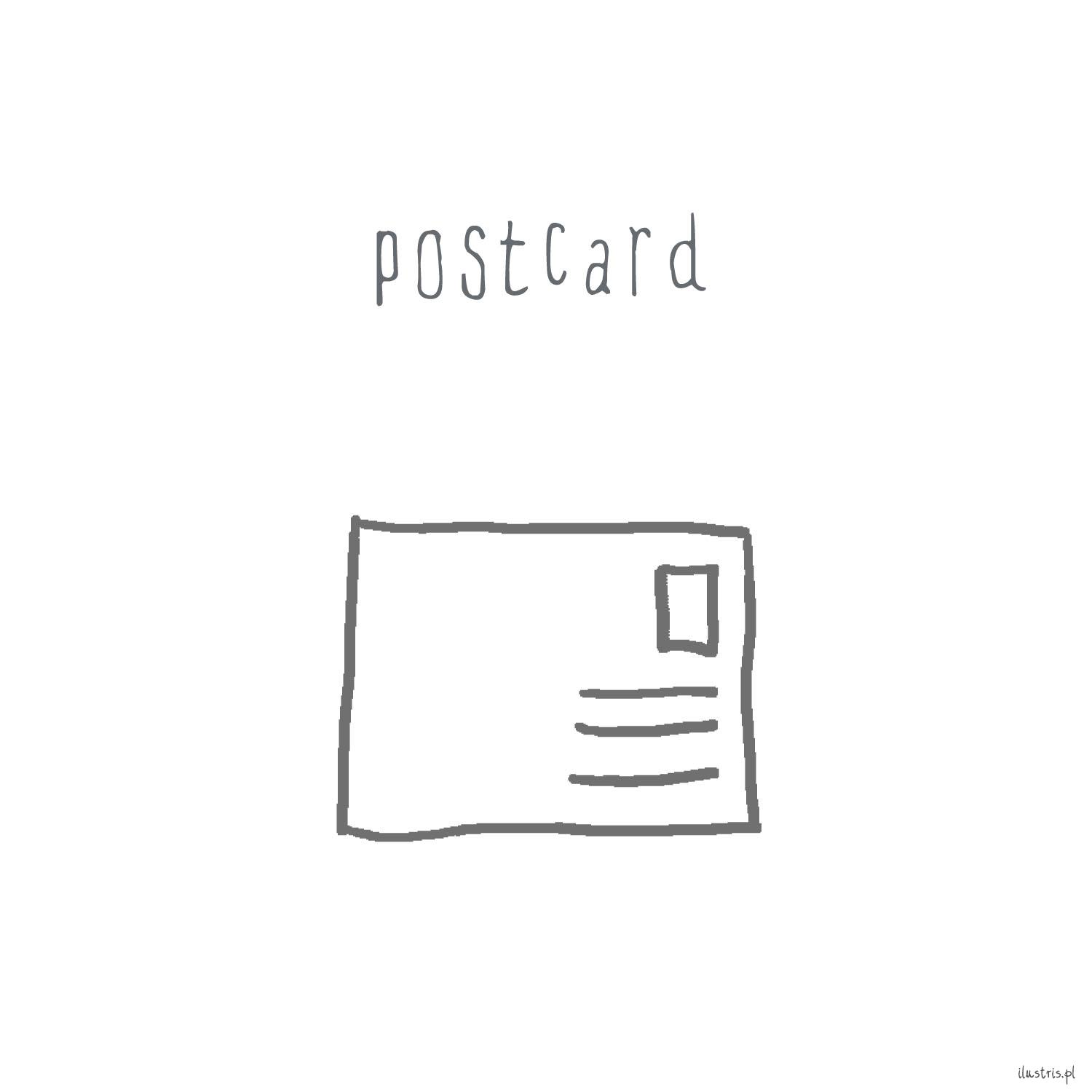 Postcard - I've Lost the Thread